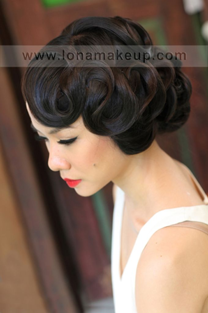 Bridal Hair by Lona Makeup - 006