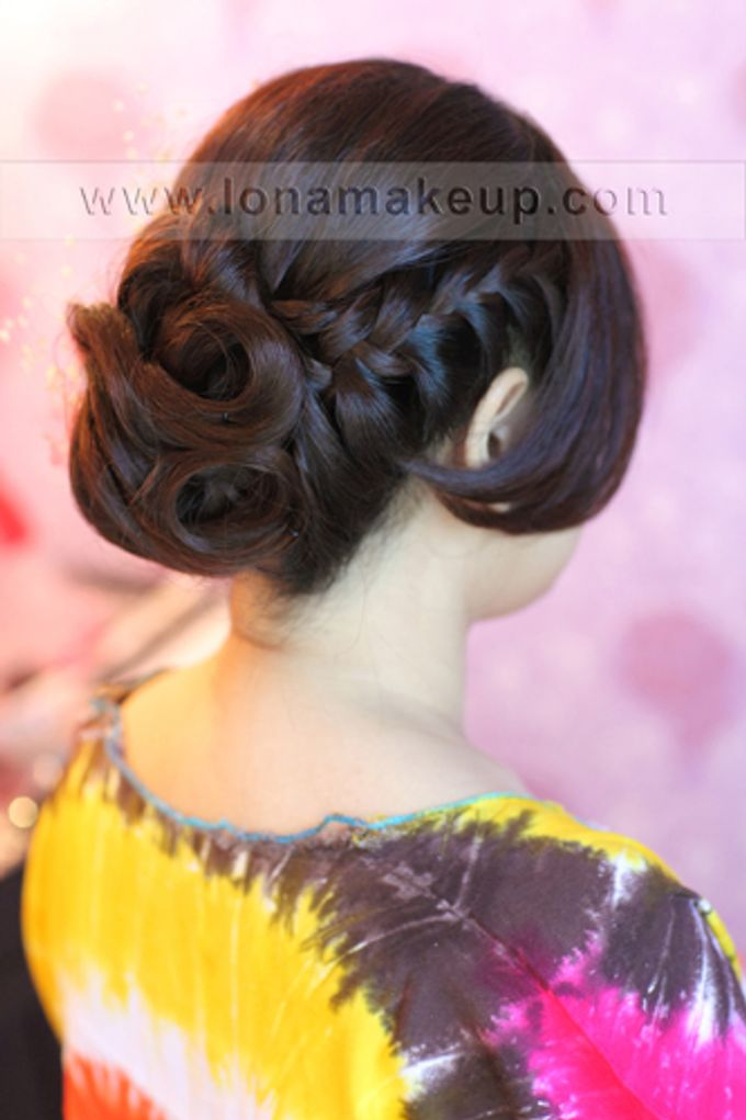 Bridal Hair by Lona Makeup - 007