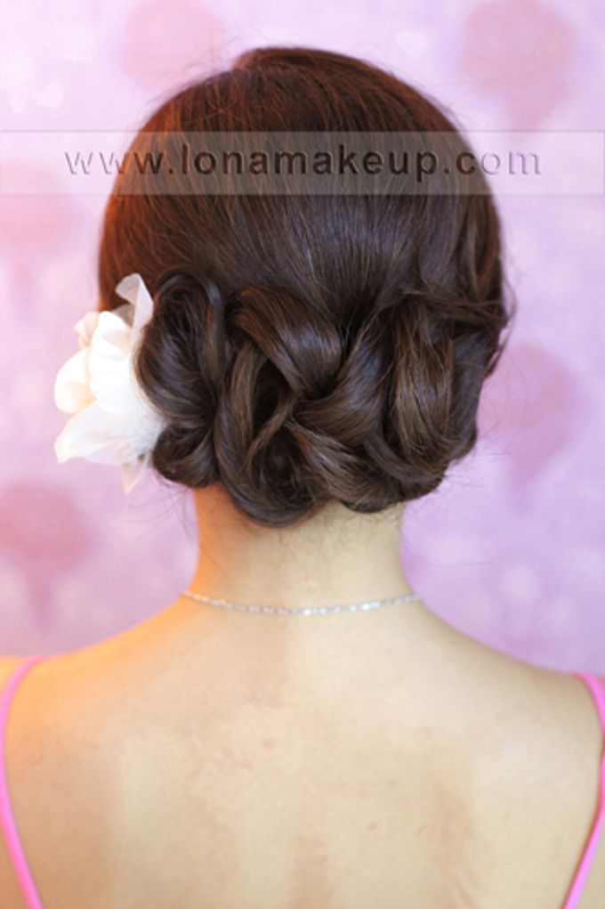 Bridal Hair by Lona Makeup - 008