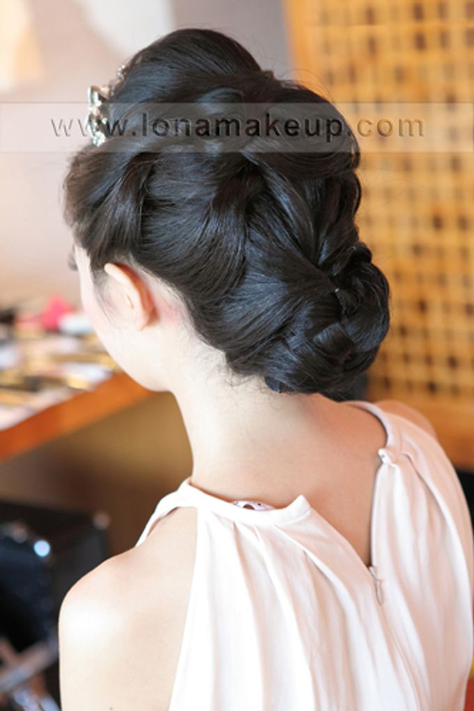 Bridal Hair by Lona Makeup - 009