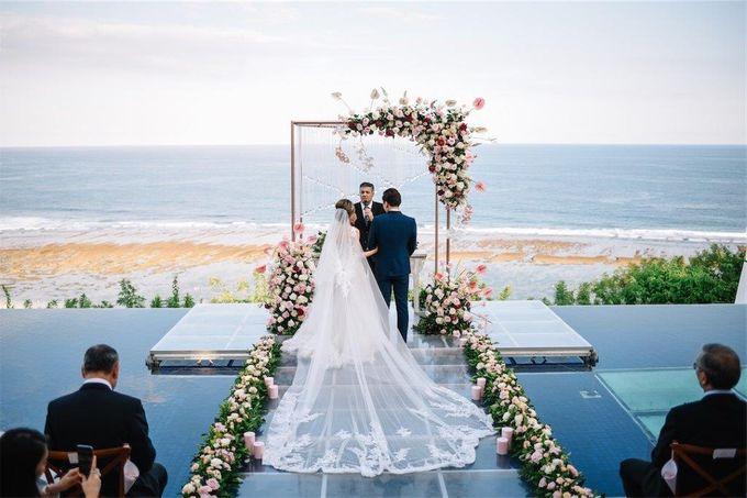 The Wedding of Donald & Larissa by BDD Weddings Indonesia - 013