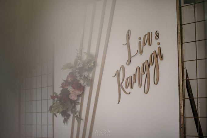 Lia and Ranggi Wedding Decoration by AKSA Creative - 029