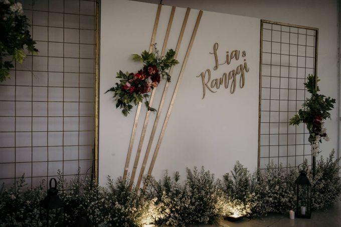 Lia and Ranggi Wedding Decoration by AKSA Creative - 030