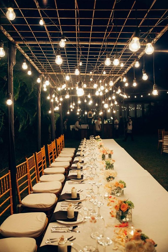Bridetable combination with bulb by Dekor Indonesia - 003