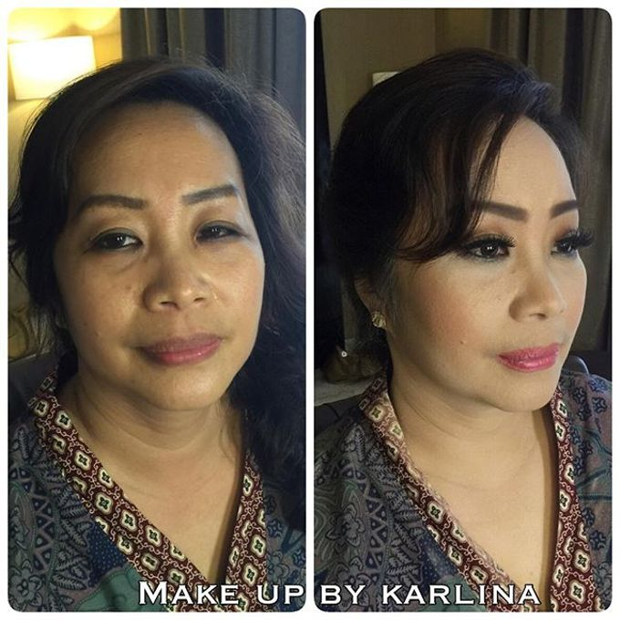 Make up and hairdo for engagement by Makeupbykarlina - 002