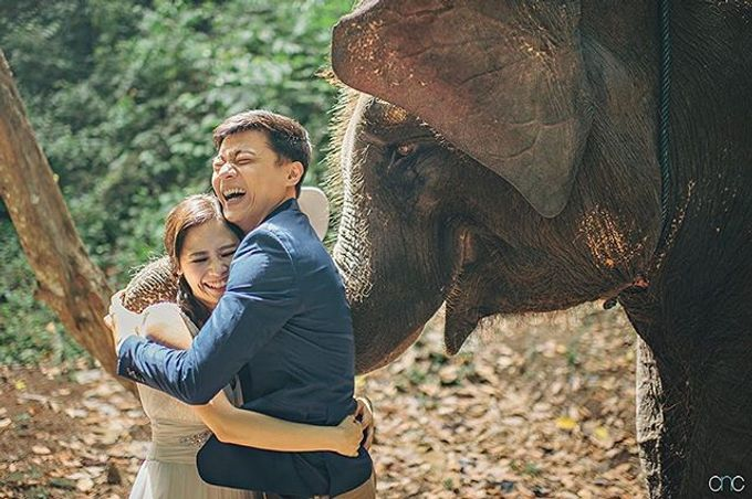 Best Of Prewedding by Hendra & Andre  by Cheese N Click Photography - 031