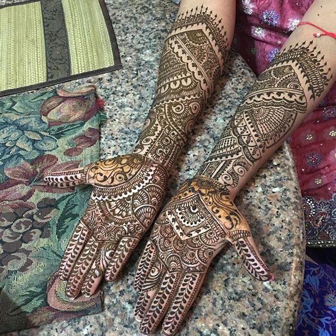 Bridal Henna - Intricate by Nakreze Mehndi - 022