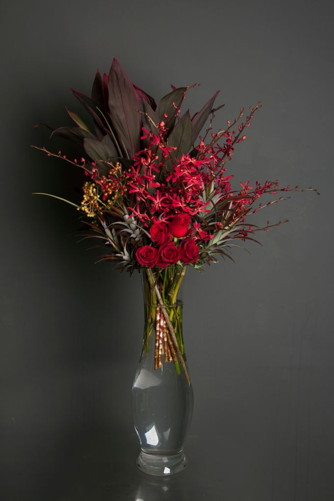 Flora Styling in vase by Beato - 012