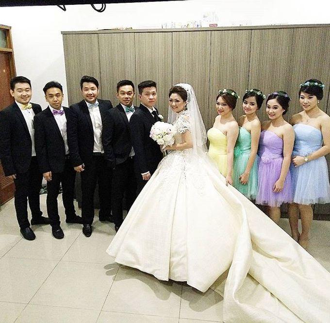 Wedding of Yanto & Anne by STILETTO PAGAR AYU - 010