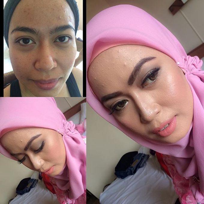 Bridesmaid makeup by RH Makeup - 002