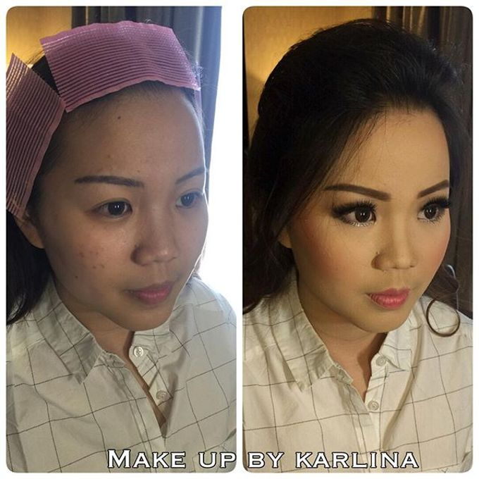 Make up and hairdo for engagement by Makeupbykarlina - 001