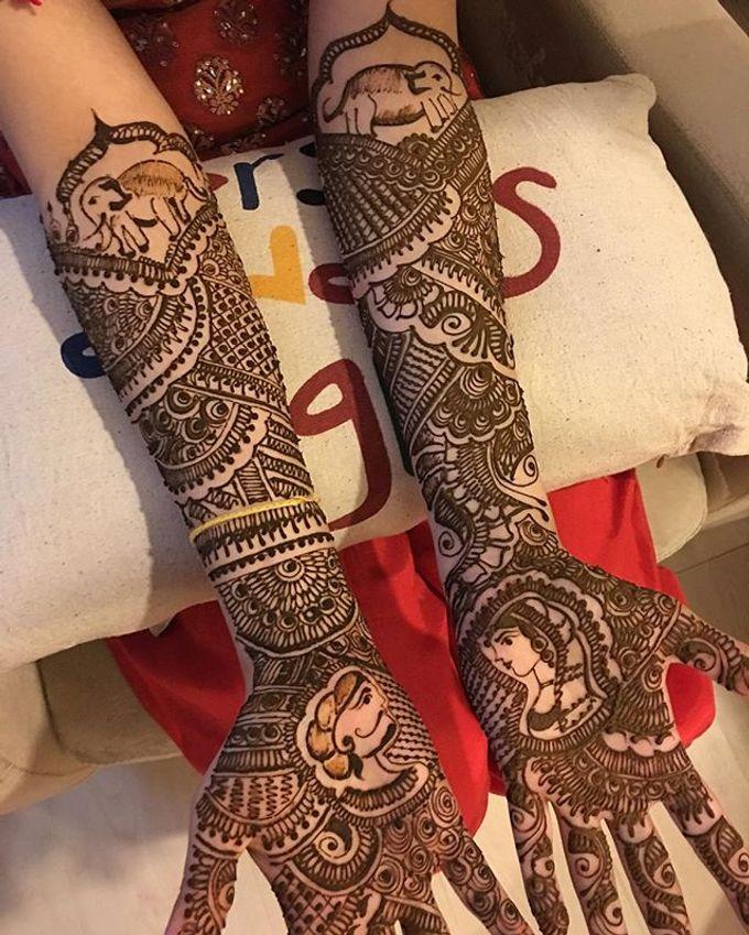Bridal Henna - Intricate by Nakreze Mehndi - 021