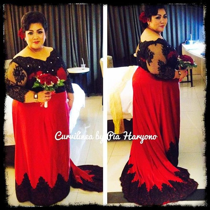 Our Exclusive Plus Size Kebaya and Formal Dress by Curvilínea by Pia Haryono - 014