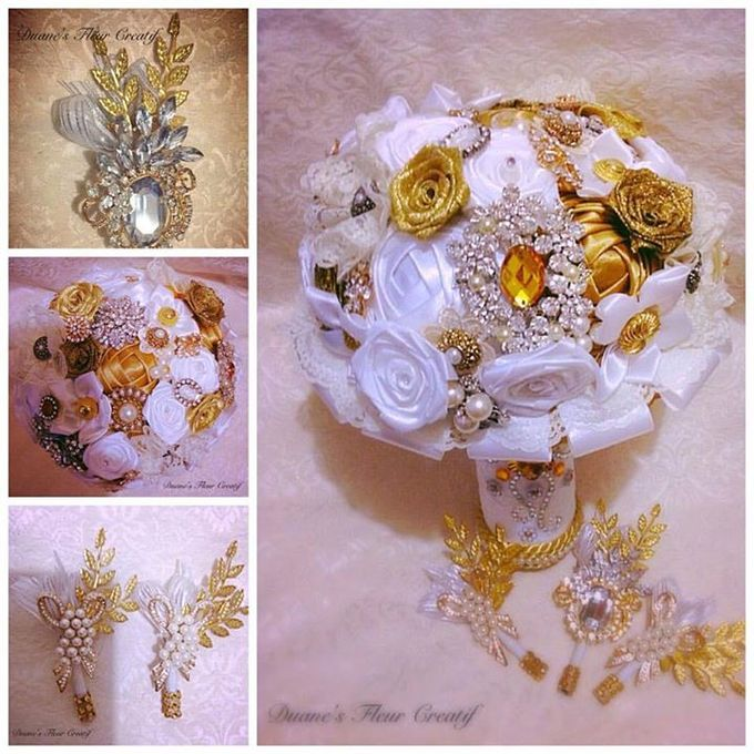 Handcrafted Bouquets and Wedding Accessories  by Duane's Fleur Creatif - 039