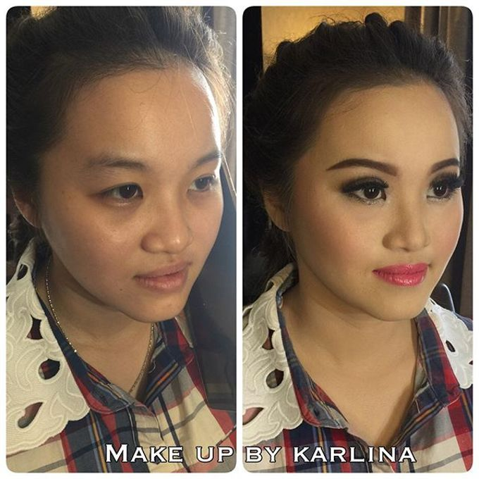Make up and hairdo for engagement by Makeupbykarlina - 003