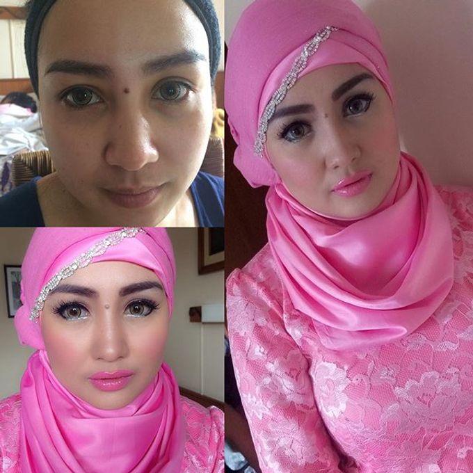 Bridesmaid makeup by RH Makeup - 001