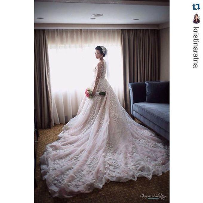 Kristin and Guntur Wedding by Gazelle Brides - 002