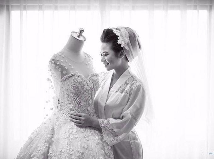 Kristin and Guntur Wedding by Gazelle Brides - 001