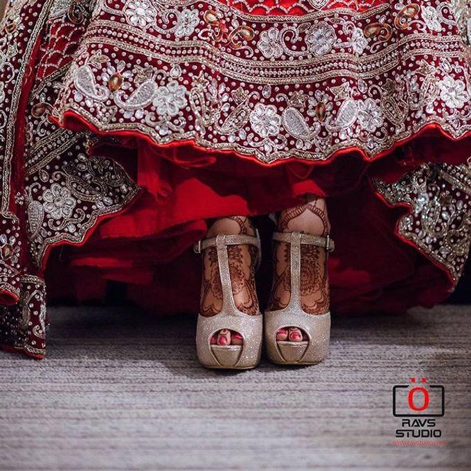 Bridal Henna - Intricate by Nakreze Mehndi - 018
