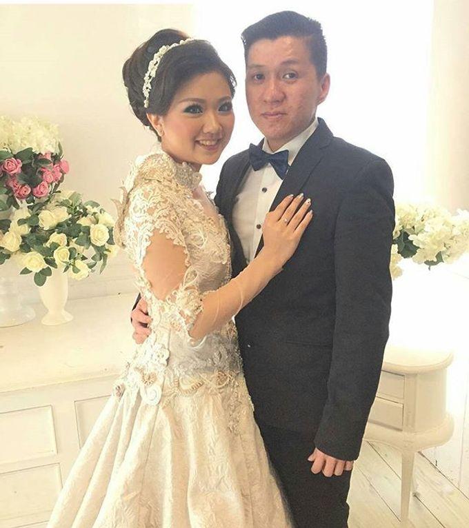 Wedding of Yanto & Anne by STILETTO PAGAR AYU - 016