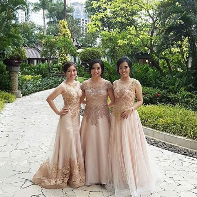 Mom  and sister gown by SAVORENT Gown Rental - 006