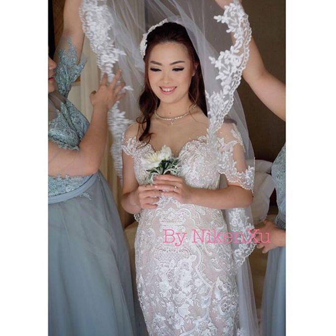 Wedding Makeup ,Mom ,Sister by Niken Xu Makeup Artist - 007
