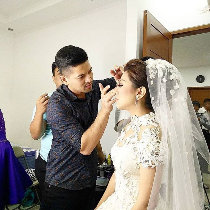 Wedding of Yanto & Anne by STILETTO PAGAR AYU - 015