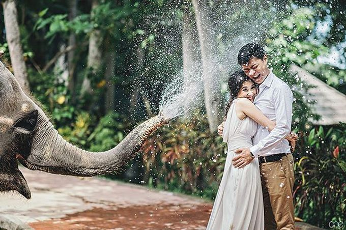 Best Of Prewedding by Hendra & Andre  by Cheese N Click Photography - 003