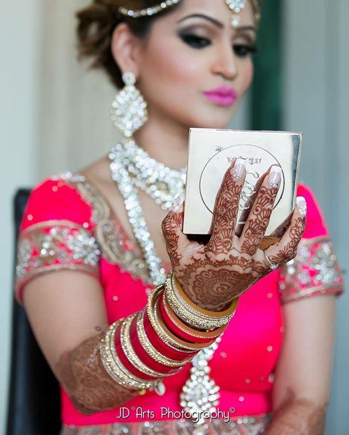 Bridal Henna - Intricate by Nakreze Mehndi - 020