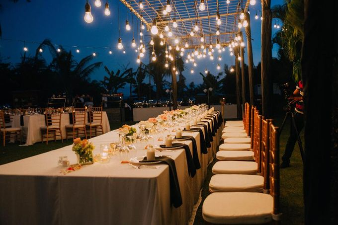 Bridetable combination with bulb by Dekor Indonesia - 002