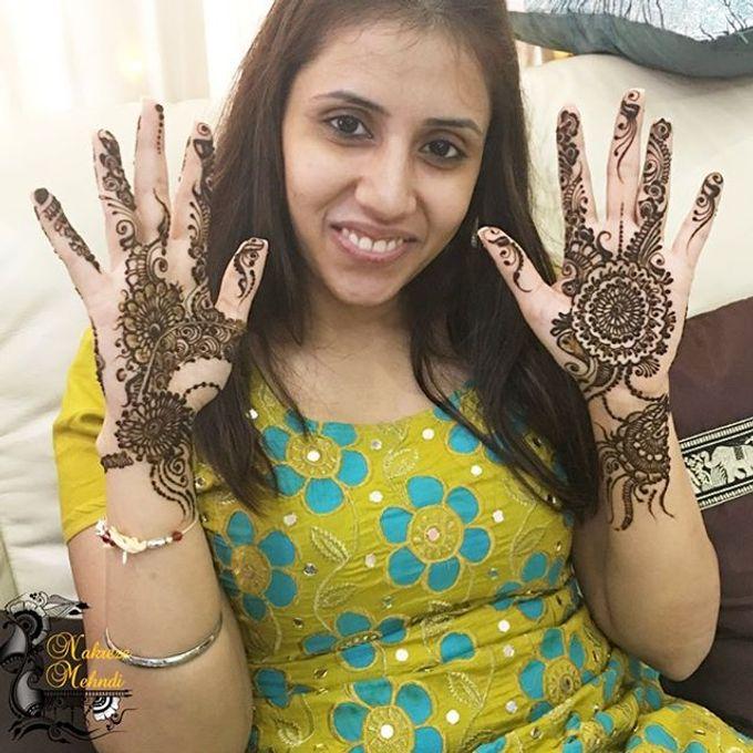 Bridal Henna - Arabic by Nakreze Mehndi - 008