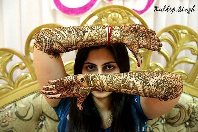 Bridal Henna - Intricate by Nakreze Mehndi - 017