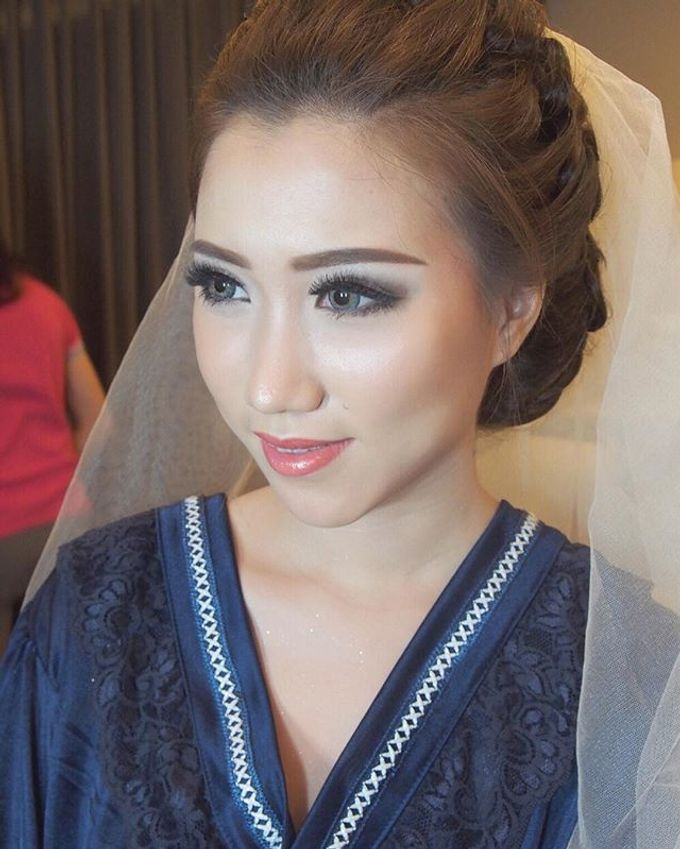 Wedding of Winarto & Marisa by Amanda Makeup Artist - 003