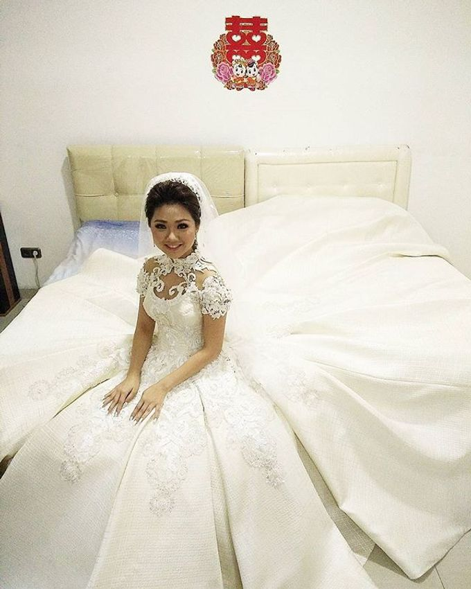 Wedding of Yanto & Anne by STILETTO PAGAR AYU - 011