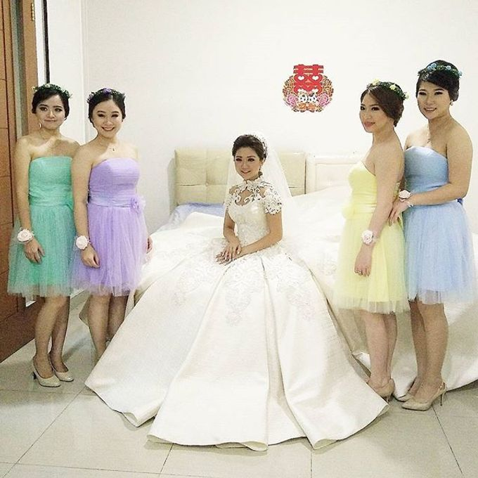 Wedding of Yanto & Anne by STILETTO PAGAR AYU - 012