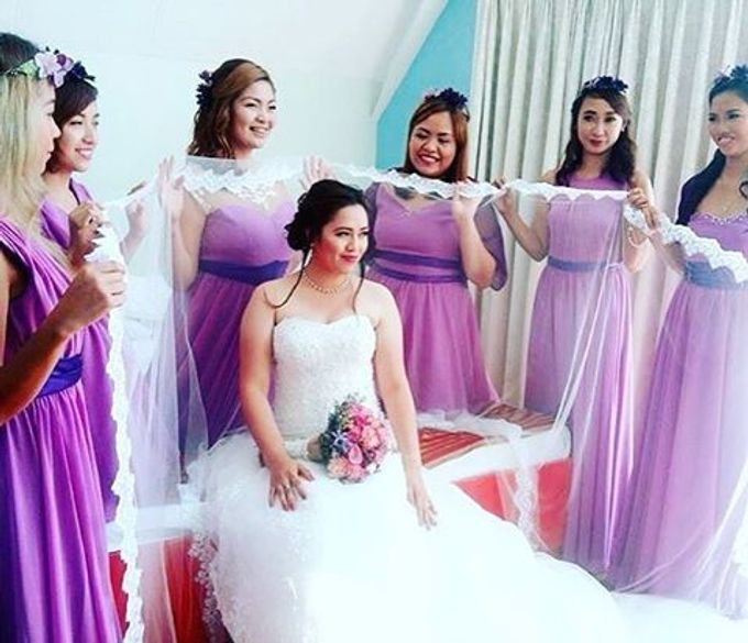 My Brides  by Makeup By Rose Abastillas - 007