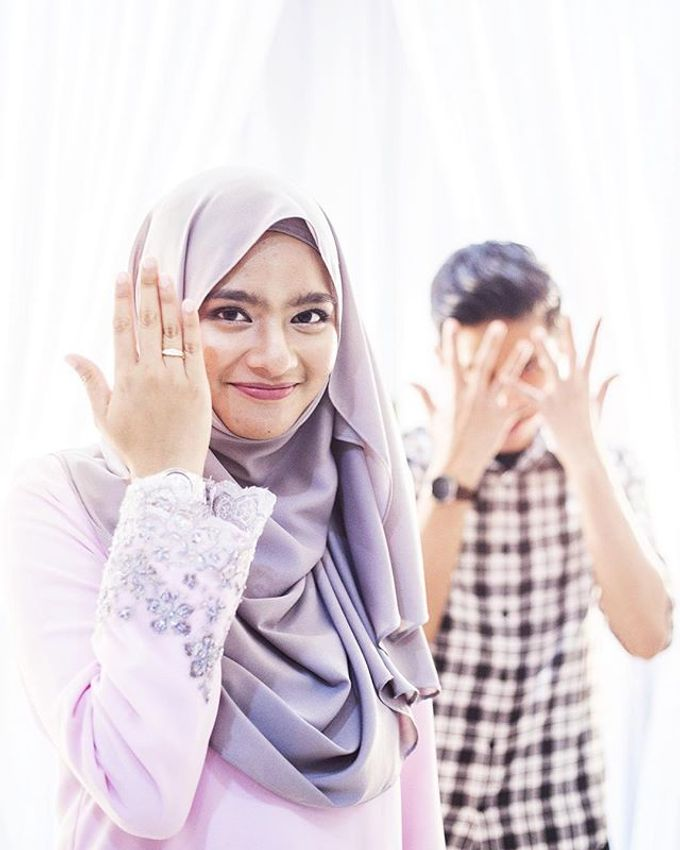 Nina & Arif engagement ceremony by The.azpf - 001