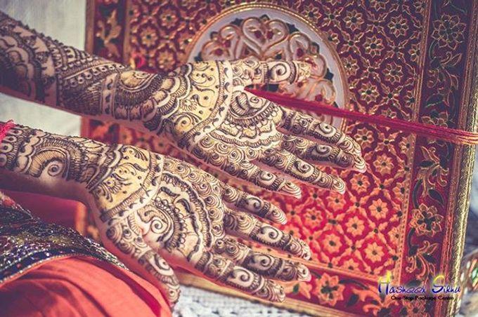 Bridal Henna - Arabic by Nakreze Mehndi - 005