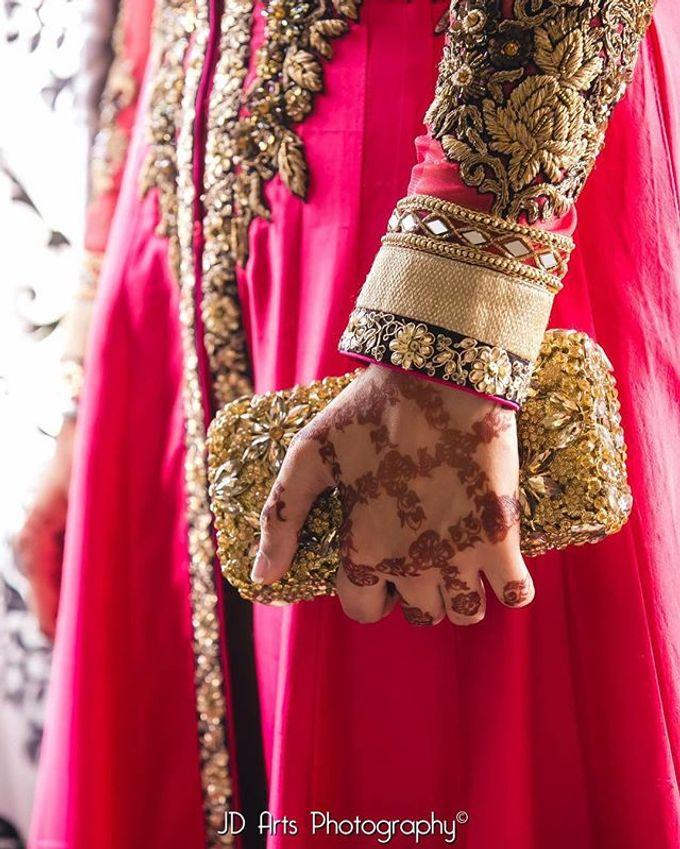 Bridal Henna - Arabic by Nakreze Mehndi - 007