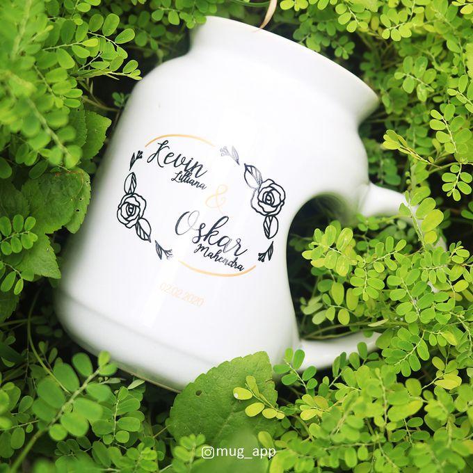 MUG MEME LOVE WEDDING KEVIN LILIANA & OSKAR MAHENDRA by Mug-App Wedding Souvenir - 001