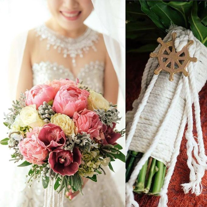 Bouquet of Flowers by Abhie Tan of Natural Art Works by Natural Art Flowers and Decors - 012