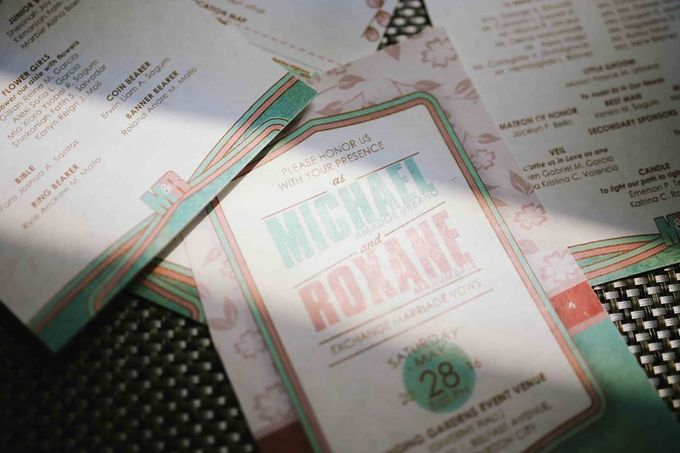 The Wedding of Mike & Roxane by Belles nd Whistles Events Management - 012