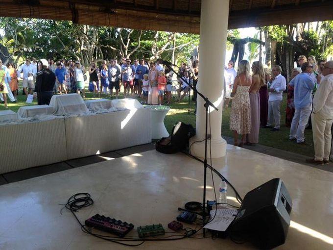 The Wedding of Carly and Matt by Bali Wedding Singer - 002