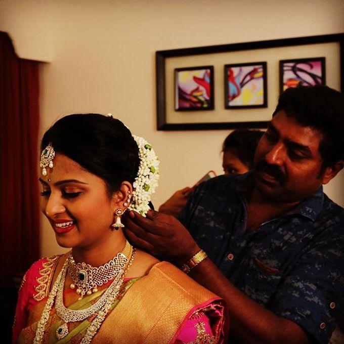 Wedding Bridal Makeup Coimbatore by Raj Bridal Makeup - 001