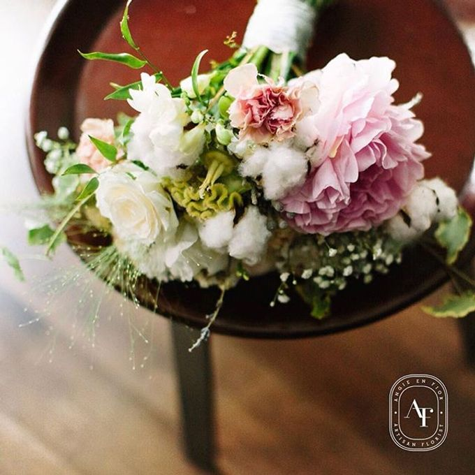 Bride Bouquet by Angie Fior - 016
