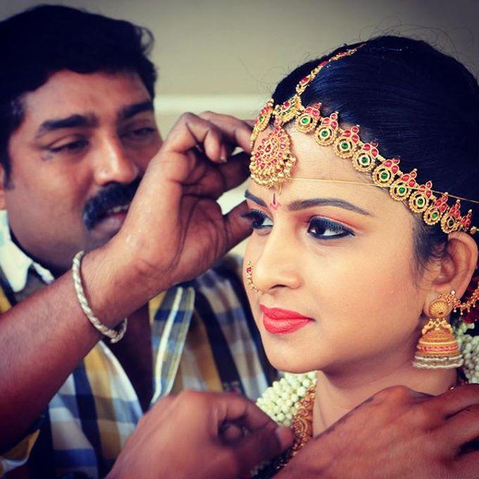 Wedding Bridal Makeup Coimbatore by Raj Bridal Makeup - 005