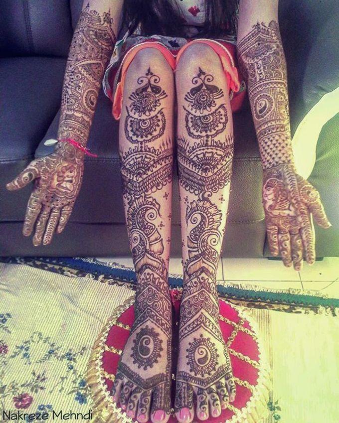 Bridal Henna - Intricate by Nakreze Mehndi - 013