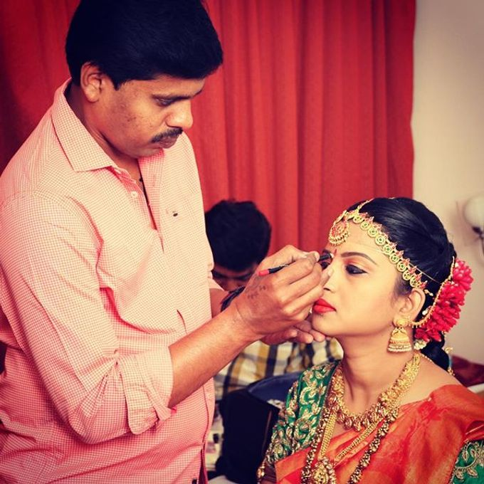 Wedding Bridal Makeup Coimbatore by Raj Bridal Makeup - 003