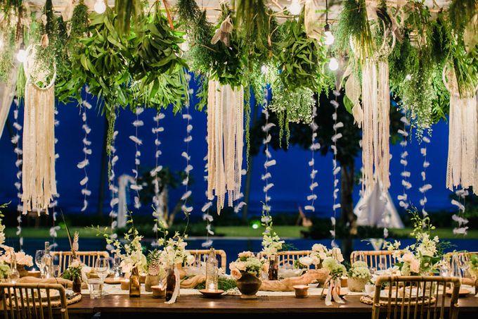 Catch Your Dreams Boho Wedding by Hari Indah Wedding Planning & Design - 037
