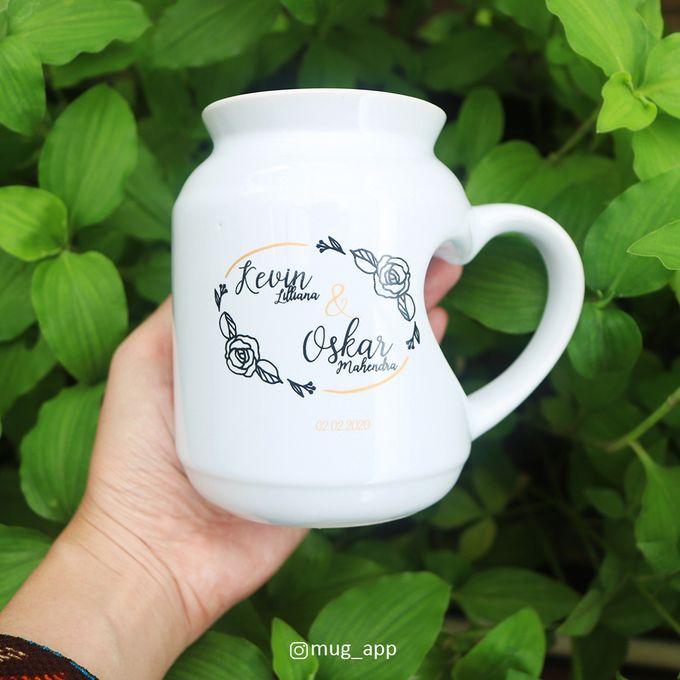 MUG MEME LOVE WEDDING KEVIN LILIANA & OSKAR MAHENDRA by Mug-App Wedding Souvenir - 002